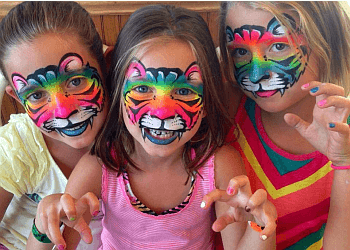 Overland Park face painting Sister Act Face Painting