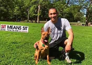 San Antonio dog training SIT MEANS SIT DOG TRAINING