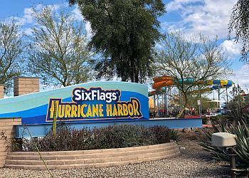 Glendale amusement park Six Flags Hurricane Harbor