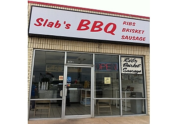 Mesquite barbecue restaurant SLAB'S BBQ