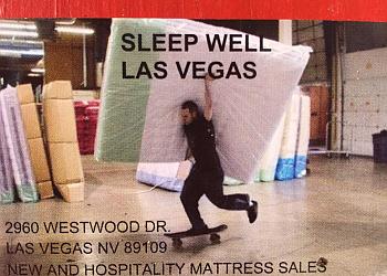Las Vegas mattress store Sleep Well