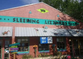 Denton gift shop Sleeping Lizzards