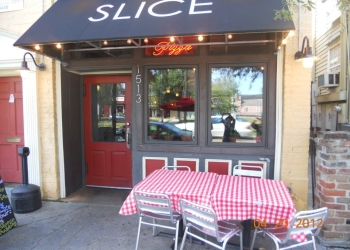 New Orleans pizza place Slice Pizzeria