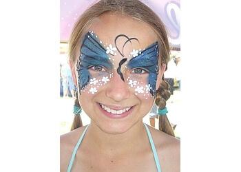 San Bernardino face painting Slizard Face Painting