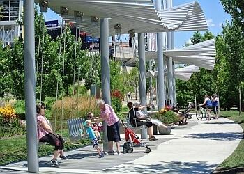 Cincinnati public park Smale Riverfront Park
