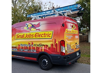 Tampa electrician Small Jobs Electric, Inc.