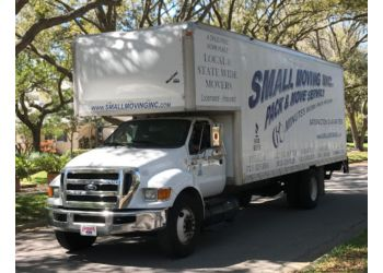St Petersburg moving company Small Moving Inc.