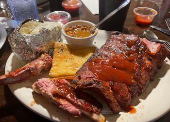 Salinas barbecue restaurant  Smalley's Roundup Restaurant