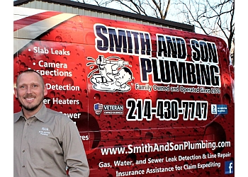 Frisco plumber Smith and Son Plumbing
