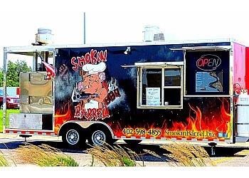 Omaha food truck Smokin' Barrel