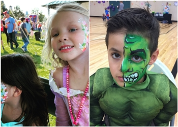 Denver face painting Snappy Face & Body Painting