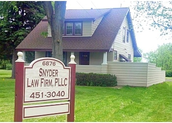 Syracuse personal injury lawyer Snyder Law Firm, PLLC