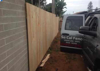 San Diego fencing contractor So Cal Fence