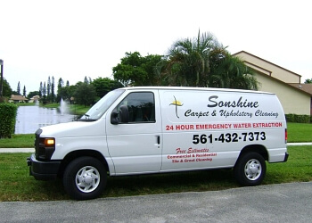 West Palm Beach carpet cleaner Sonshine Carpet and Upholstery Cleaning Inc.