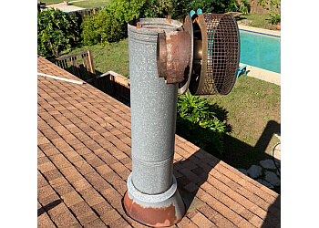 Mobile chimney sweep Soot Away Chimney Sweep & Masonry
