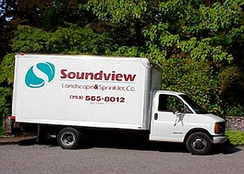 Tacoma landscaping company SOUNDVIEW LANDSCAPE & SPRINKLER, CO.