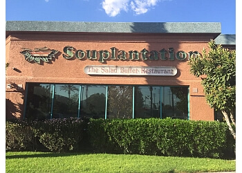 San Bernardino vegetarian restaurant Souplantation