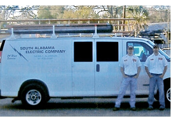 Mobile electrician South Alabama Electric Co.