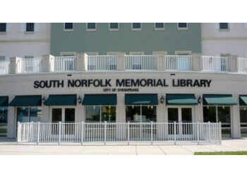 Chesapeake landmark South Norfolk Memorial Library