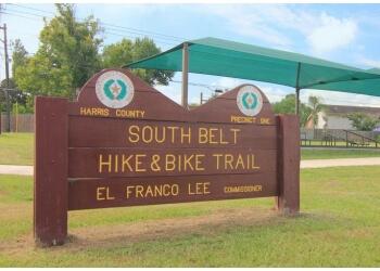 Pasadena hiking trail Southbelt Hike & Bike Trail