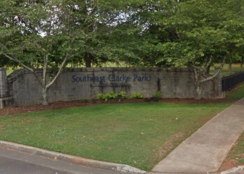 Athens public park Southeast Clarke Park