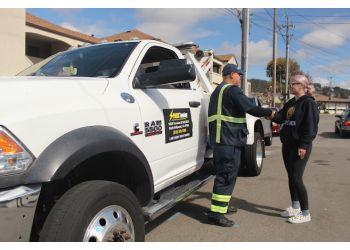 Santa Ana towing company Spark Towing