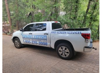 Scottsdale window cleaner Sparkle Tech Window Washing, LLC