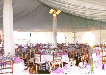 Rochester event rental company Spatola's Party Rental Inc.