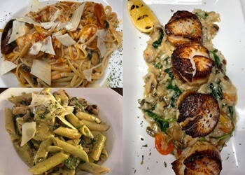 Arlington italian restaurant Spazzio's  Italian Cantina