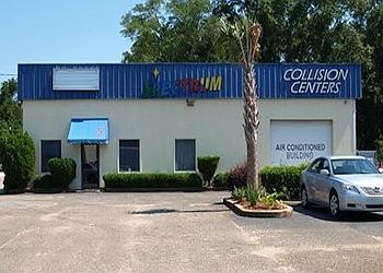 Mobile auto body shop Spectrum Collision Centers