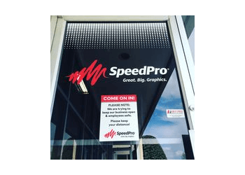 Greensboro sign company SpeedPro Imaging