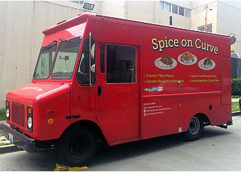 Kent food truck Spice on Curve