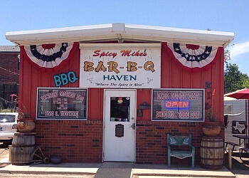 Amarillo barbecue restaurant SPICY MIKE'S BAR-B-Q HAVEN