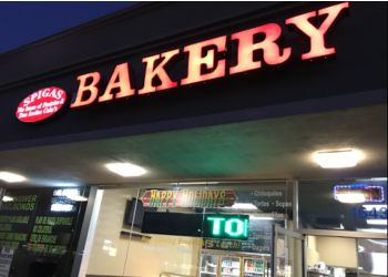 Orange cake Spigas Bakery & Cafe