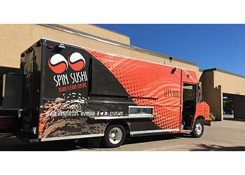 Plano food truck Spin Sushi