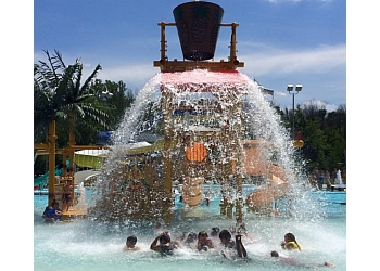 Indianapolis amusement park Splash Island