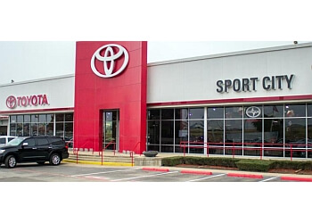 Garland car dealership Sport City Toyota