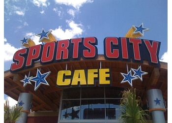 Mesquite sports bar Sports City Cafe
