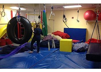 Dallas occupational therapist Spots Suggs Pediatric Outpatient Therapy Services