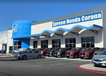 Corona car dealership Spreen Honda Corona