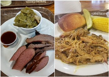 Irving barbecue restaurant Spring Creek Barbeque
