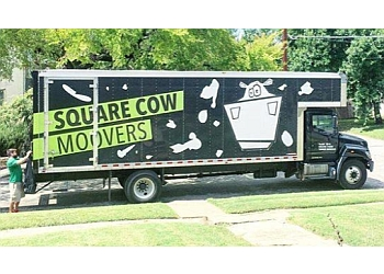 Houston moving company Square Cow Movers