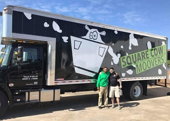 Thornton moving company Square Cow Movers