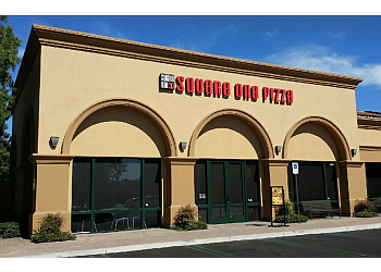 Irvine pizza place Square One Pizza