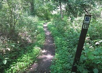 Cedar Rapids hiking trail Squaw Creek Park Trail