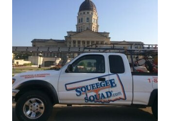 Tulsa window cleaner Squeegee Squad