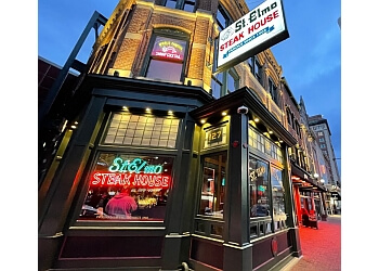 Indianapolis steak house St Elmo steakhouse