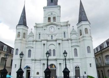 New Orleans church St. Louis Cathedral