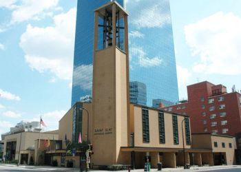 Minneapolis church St Olaf Catholic Church