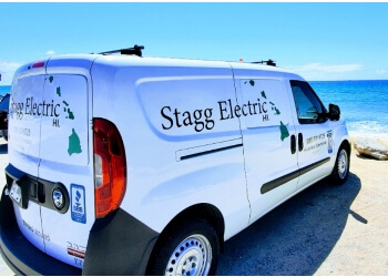 Honolulu electrician Stagg Electric LLC.